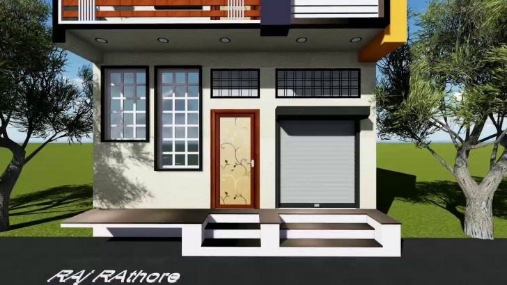 Amazing 20 Feet Front Elevation - Youtube Front Elevation House 20 Ft Pic