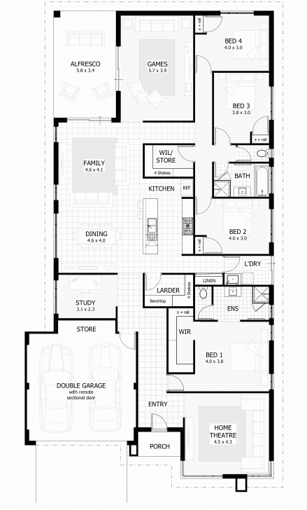 Amazing 3 Bedroom House Plan On Half Plot Luxury 15 Metre Wide Home Designs 3 Bedroom Plan On Half Plot Picture