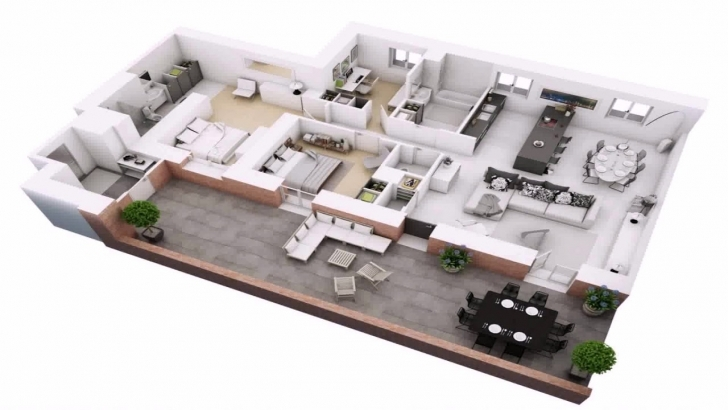 Amazing 3 Bedroom House Plan On Half Plot - Youtube Building Plans On Half Plot Pic