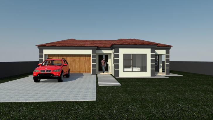 Amazing 4 Bedroom Modern House Plans South Africa Fresh House Plan Mlb 047S Modern Mlb House Plan Photo