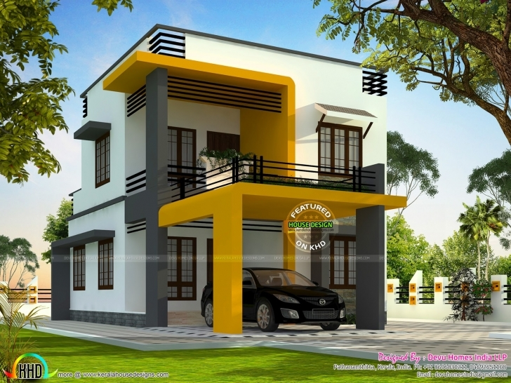 Amazing 750 Sq Ft House In Kerala - Homes Zone Kerala Model 750 Sq Veedu Design Photo