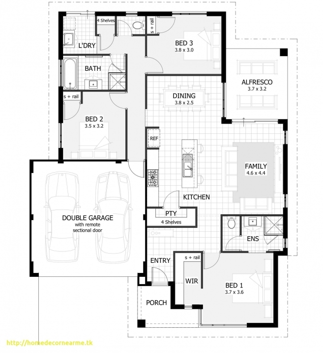 Amazing 8 Easy House Plan For Three Bedroom Bungalow Three Bedroom House Three Bedroom House Design Photo