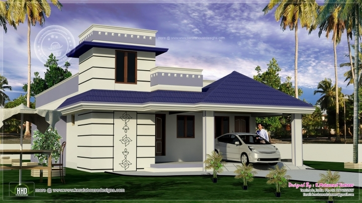 Amazing Feet One Floor South Indian Home House Plans - Building Plans Online South Indian Single Floor Home Image