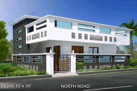 North Facing House Plans With Elevation