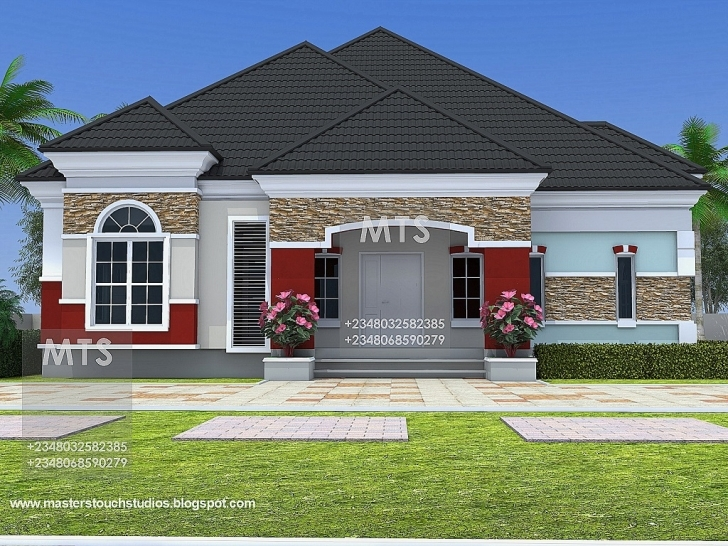 Amazing House Plan Mr Chukwudi 5 Bedroom Bungalow Residential Homes And 5 Bedroom Bungalow Floor Plans In Nigeria Pic