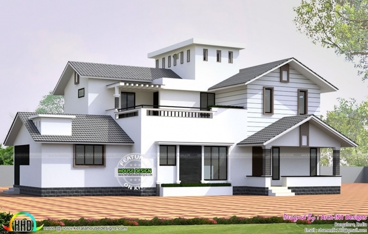 Amazing Inspirational Small Kerala House Designs | Moongladedesigns Kerala House Planners Picture