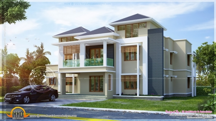Amazing January 2014 Kerala Home Design And Floor Plans Stunning 3300 Square House Model Kerala 2014 Image