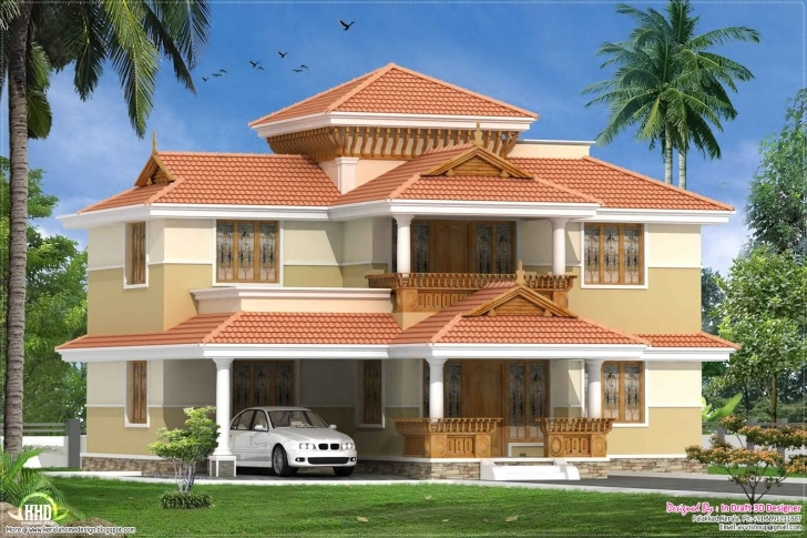 Amazing January Kerala Home Design Floor Plans - Building Plans Online | #29087 3D House Model Kerala Picture