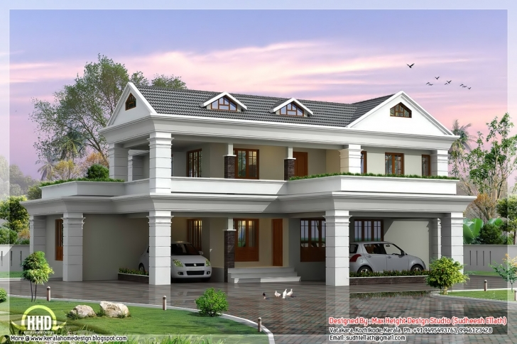 Amazing Malaysian Single Storey Bungalow House Design - Building Plans Beautiful 2 Story Bungalow Photo