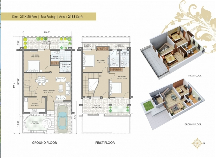 Astonishing 25 X 50 Layout Plans Elegant Villa 25×50 E – Seeking For A Good Plan House Map Design 25 X 50 Picture