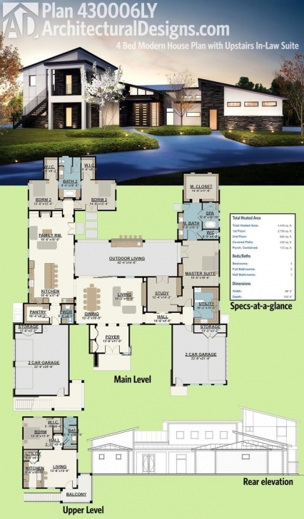 Astonishing 253 Best Modern House Plans Images On Pinterest 22×42 House Plan Car Parking Photo