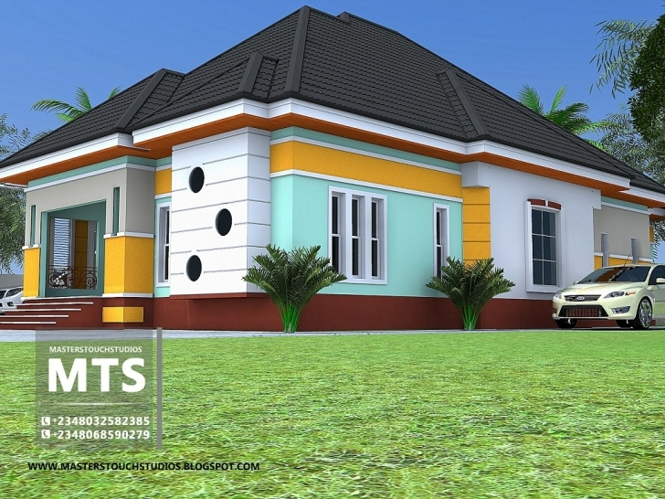 Astonishing 3 Bedroom Bungalow Pictures Of Beautiful House Or Half A Plot In Nigeria Image