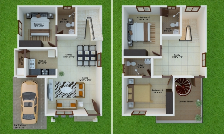Astonishing 30 By 40 House Plans - Home-Improvements Home Design 10×30 Image