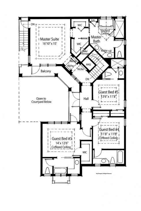 Astonishing 4 Bedroom Luxury House Plans • Bedroom Ideas 4 Bedroom House Floor Plans In Ghana Photo