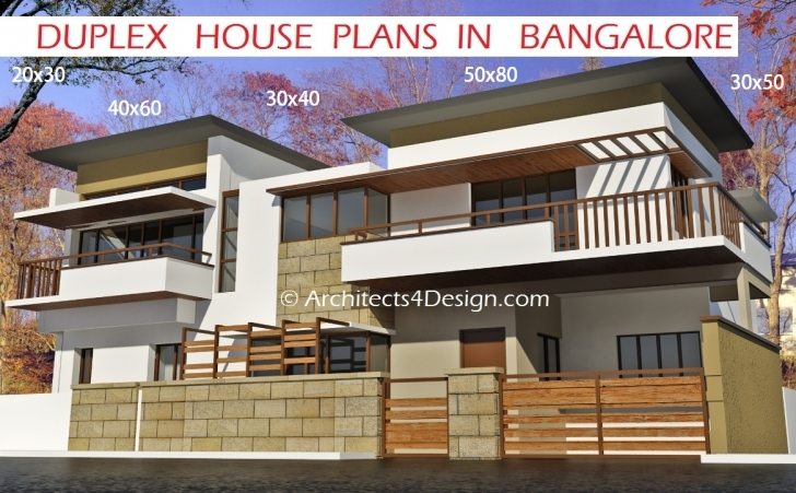 Astonishing Duplex House Plans In Bangalore On 20X30 30X40 40X60 50X80 G+1,g+2,g Gallery Elevation Design Size 13Ft Photo