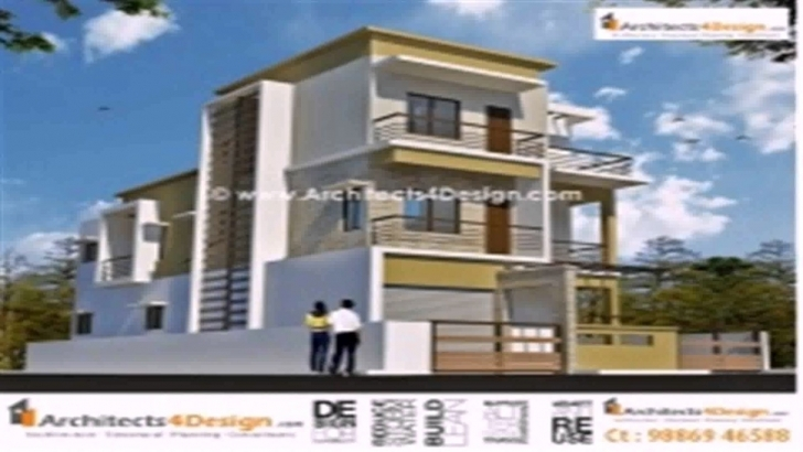Astonishing Floor Plans For 20X60 House - Youtube 20*60 Duplex House Elevation Pic