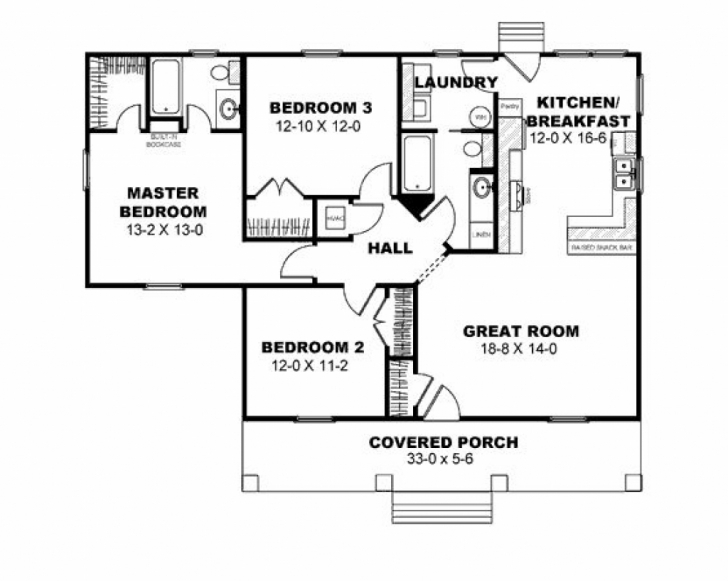 Astonishing Home Architecture: House Plan Modern Bungalow House Design Bedroom Bungalow 3 Bedroom House Plans Picture