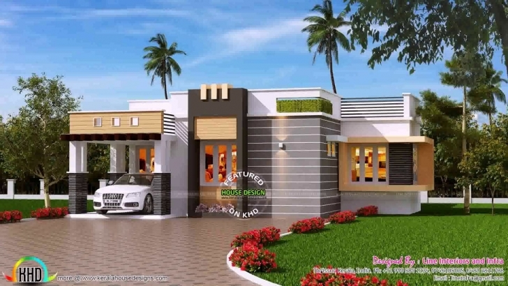 Astonishing House Front Elevation Designs For Double Floor Tamil Nadu - Youtube Single Floor House Front Elevation Designs In Tamilnadu Pic