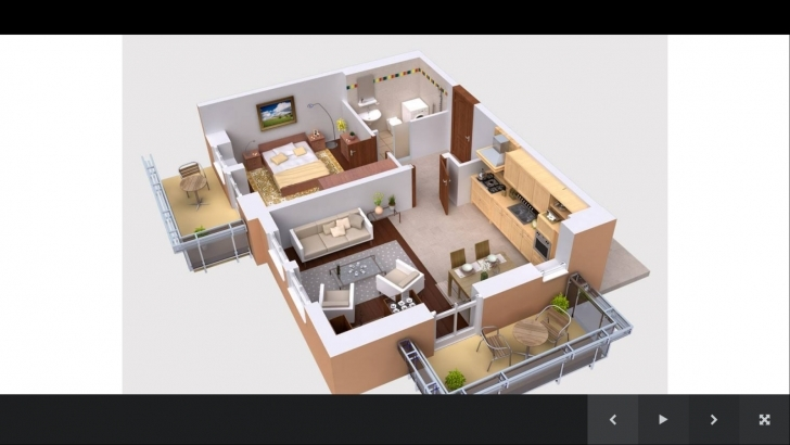 Astonishing House Plans 3D Smartness Inspiration 16 - Tiny House 16*50 House Plan 3D Picture
