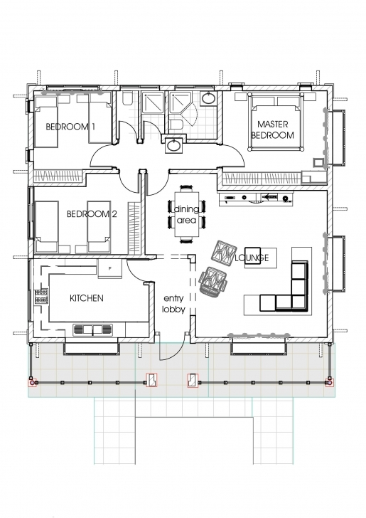 Astonishing House Plans In Kenya, 3 Bedroom Bungalow House Plan | David Chola House Plans And Designs In Kenya Photo