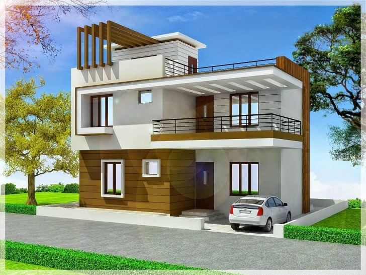 Astonishing Incredible Duplex House Front Elevation Designs Including Floors Front Elevation Designs Picture