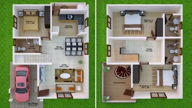 Astonishing Indian Vastu House Plans For 30X40 East Facing - Youtube 30 X 40 Duplex House Plans East Facing With Vastu Image