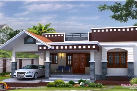 Kerala House Elevation Single Floor