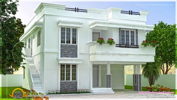 Astonishing Modern Beautiful Home Modern Beautiful Home Design Indian House Indian Small House Designs Photos Picture