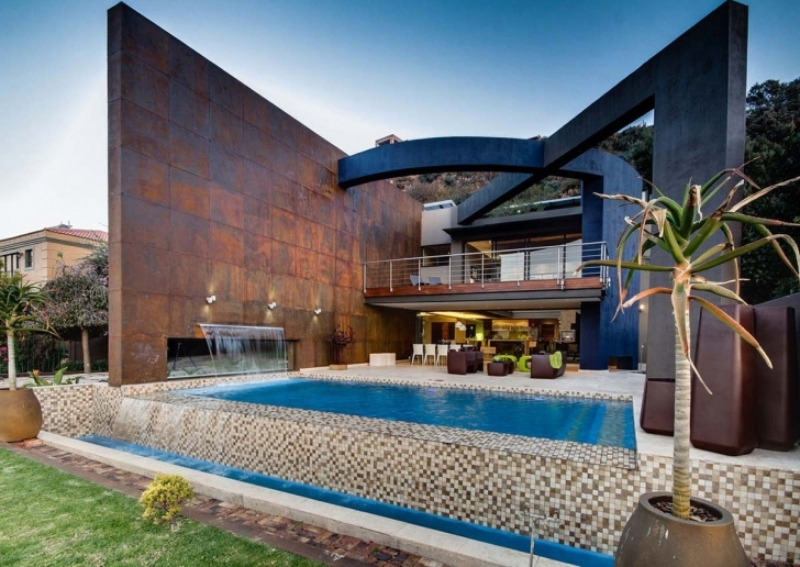 Astonishing Modern Upgrade In South Africa Modern South African Houses Picture