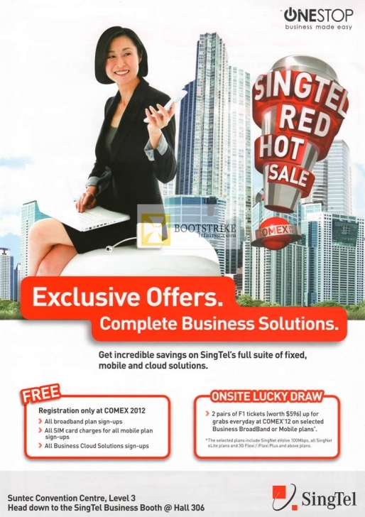 Astonishing Singtel Business One Stop Business Solutions, Free Registration How To Draw One Stop Solution Pic