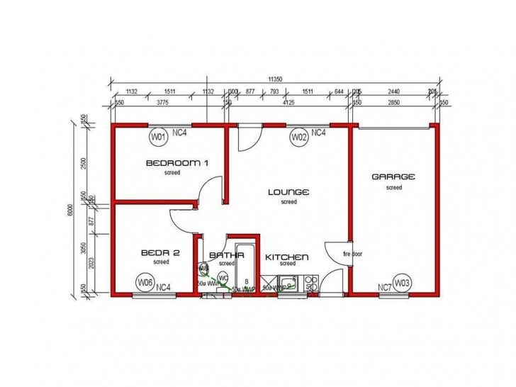 Astonishing Small 2 Bedroom House Plans South Africa | Www.resnooze Free 2 Bedroom House Plans South Africa Picture