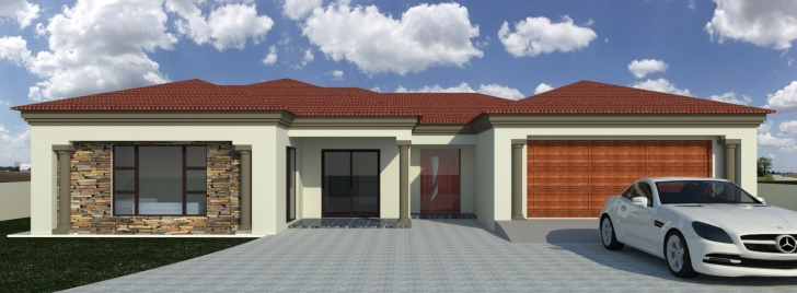 Astonishing South African Tuscan House Plans Designs Bright 3 Bedroom Africa 3Bedroom Tuscany House Plan Image