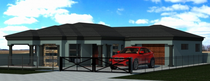 Astonishing Tuscan House Plans New 4 Bedroom Home Design Remarkable - Home House Plan Designs In Polokwane Photo