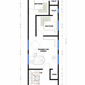 15 By 45 House Plan