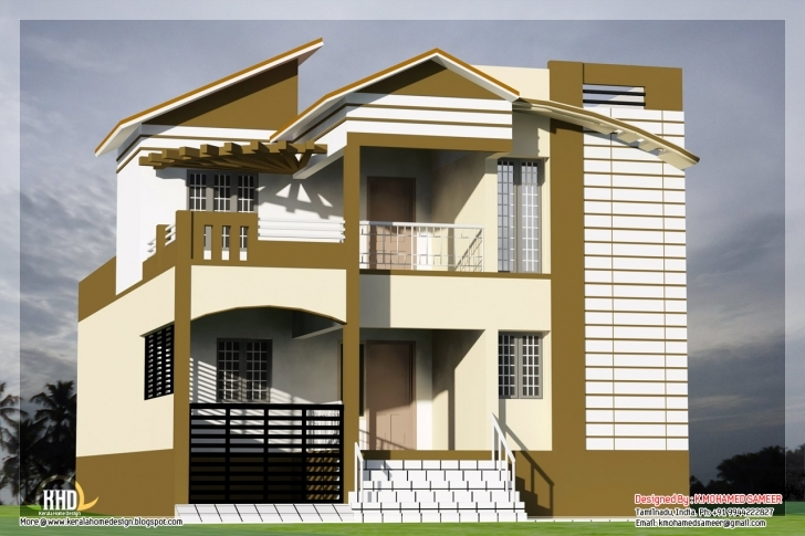 Awesome 3 Bedroom South Indian House Design - Kerala Home Design And Floor Plans South Indian House Pic Pic
