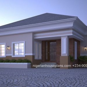 Architectural Designs For 4 Bedroom Bungalow In Nigeria