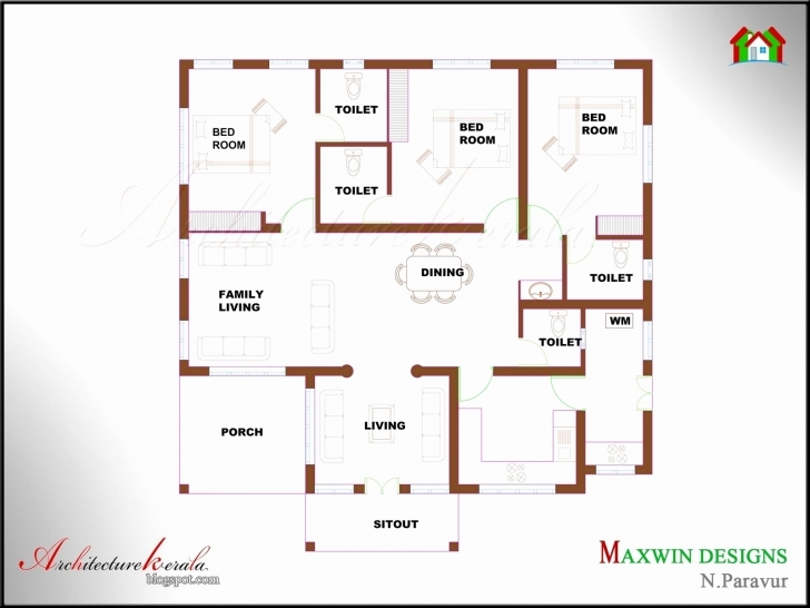 Awesome 60 Unique Pictures 2 Bedroom House Plans Indian Style | Hous Plans 4 Bedroom House Plans Indian Style Pic
