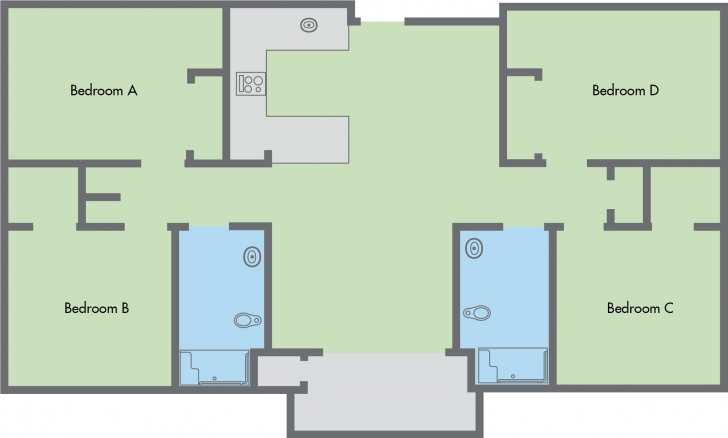 Awesome Bedrooms : New 4 Bedroom Flat Floor Plan Amazing Home Design Amazing 4 Bedroom Flat Floor Plan Design Picture