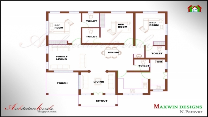 Awesome Cozy Design 4 Bedroom 2 Story House Plans Kerala Style 7 Bedroom 4 Bedroom House Plans Kerala Style Architect Image