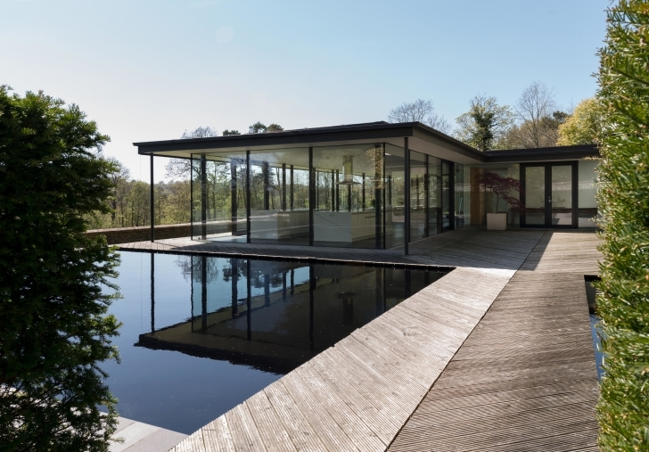 Awesome England's Magnificent Modern Houses | Architectural Digest Modern House Buildings Photo
