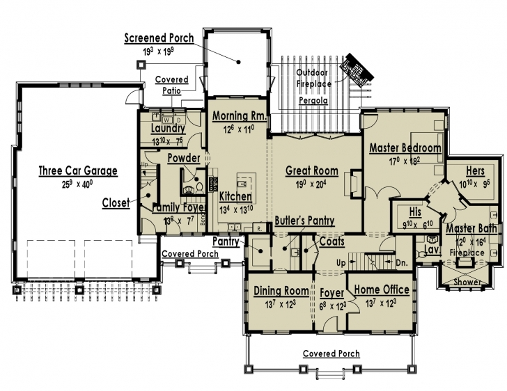 Awesome Floor: Luxury Bungalow Floor Plans Princess Residential Floor Plan Bungalow Image