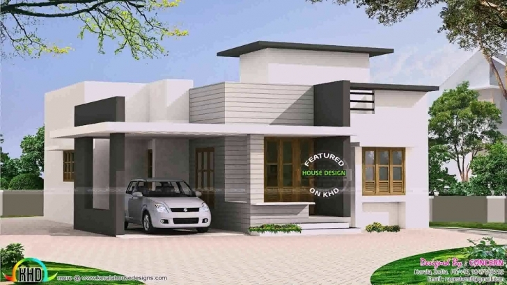 Awesome Front Design Of House In Small Budget Single Floor - Youtube Single Floor Small Home Front Design Photo