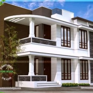1500 Sqfeet House Design India