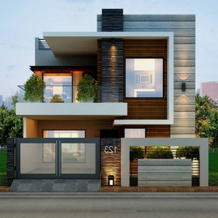 Awesome House Elevation Design - Arelisapril Best House Elevation Photo