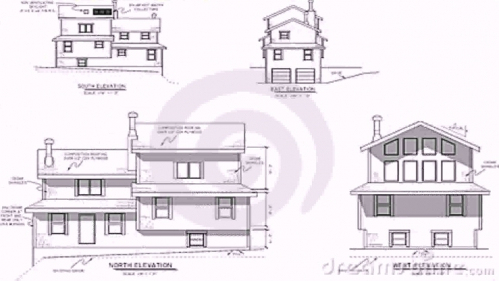 Awesome House Plans Elevation Section - Youtube Residential Building Plan Section Elevation Photo