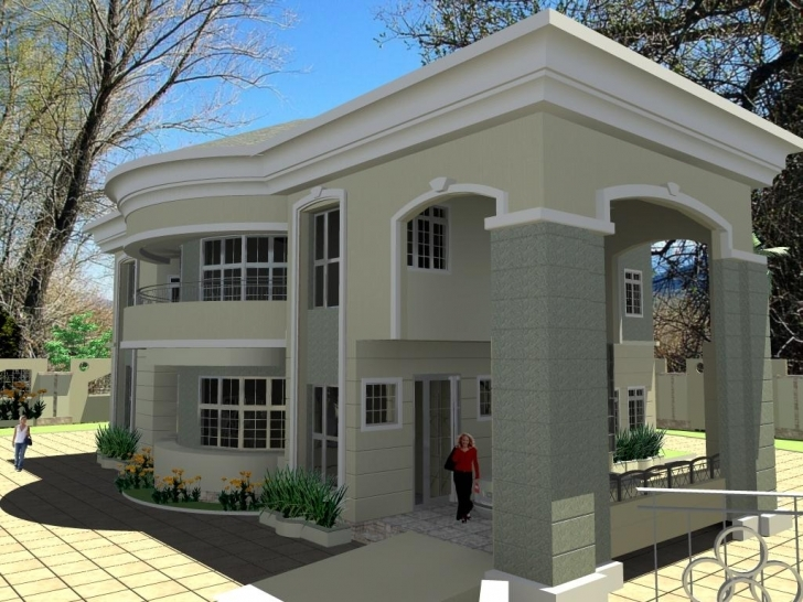 Awesome Nigerian House Plans Designs Ultra Modern Architecture - Home Plans Nigerian House Plans And Designs Image