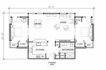 Small Single Story House Floor Plans