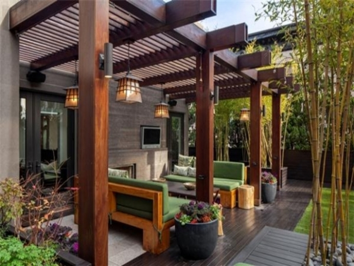 Awesome Pergola Design Ideas Pergola Designs Attached To House Most Pergola Designs Attached To House Image