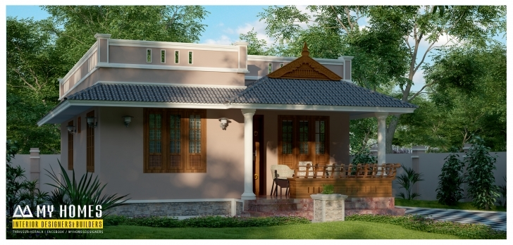 Awesome Small Budget House Plans Kerala, Small House Plans Kerala - White House Budget House Plans Kerala Style Picture