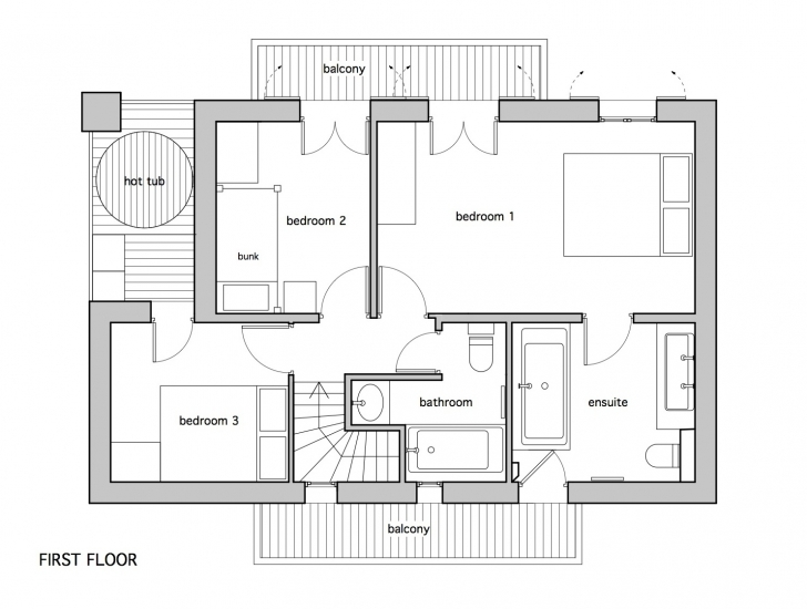 Awesome Uncategorized : 4 Bedroom Flat Floor Plan Unbelievable In Fantastic Floor Plan Of Four Bedroom Flat Image